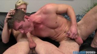 Hung Unctt Stud Fucks Blond Buddy's Ass