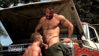 Dirk Caber and Spencer Reed