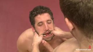 Tony Hunter & Sebastian Keys Wrestling Nude