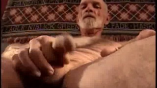 Redneck Grandpa Jacking Off
