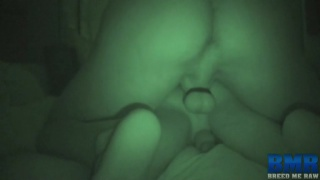 Barebackers Filmed in Night Vision