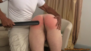 Paddling Str8 Bare Ass