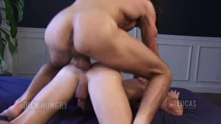 Blond Russian Twink Takes Long Cock