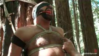 Josh West's Outdoor Bondage Edging
