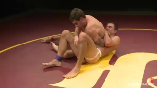 Cameron Kincade & Vance Crawford Nude Wrestling