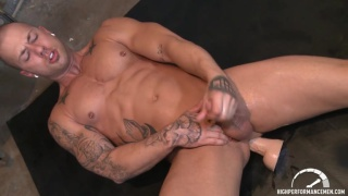 Rod Daily with a Dildo Up His Ass