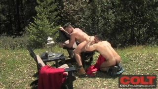 Adam Champ & Trenton Ducati Fuck Outdoors