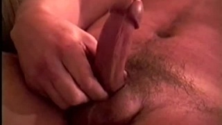 Beefy Straight Man Pulling his Cock