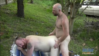 Horny Bears Doggy Style Fucking on the Grass