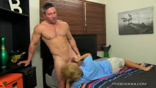 Evan Stone Servicing Straight Brock Landon