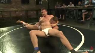 Naked Wrestlers Hayden Richards and Jeremy Stevens