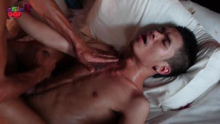 Asian Lovers Beating Off