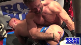 Dirk Caber Butt Fucks JR Bronson