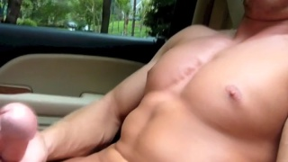 Picked Up & Forced to Jack in the Car