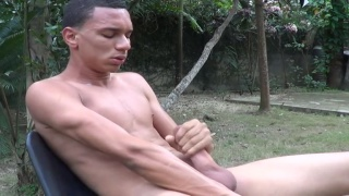 Domingo Jerking his Dick