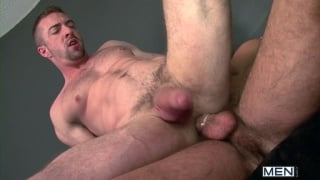 Scott Hunter Riding Paddy O'Brian's Cock