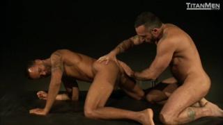 Latin Muscle Bear Alessio Romero Ramming Butt