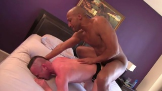 Buster Sly Assed Fucked in Jockstrap