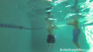 Underwater Barebacking with Adam Baer and Johnny Forza