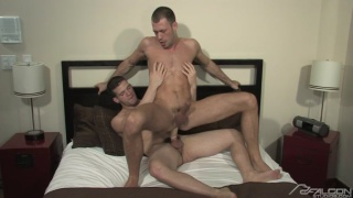 Brandon Jones Fucks Angel Rock's Huge Cock