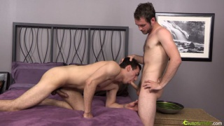 2 Hairy Dudes Servicing Each Other