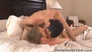 Big cock pounding with Mason