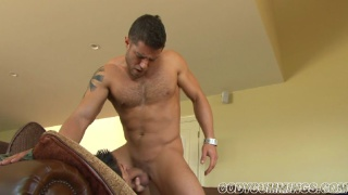 Cody stuffs a hot dude with his cock