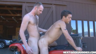 Amateur next door studs fucking in the country