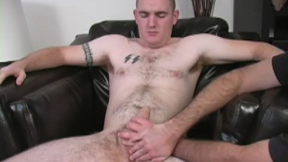 Hot amateur lad gets a helping hand