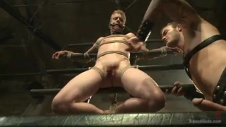 christian wilde and Liam Harkmoore in the dungeon
