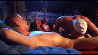 kai cruz fucks at hustlaball live show