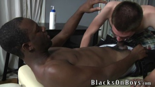 white boy gets his ass stuffed good