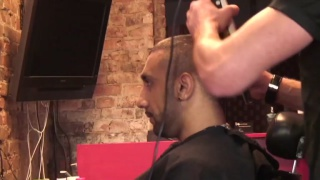 barber fantasizes about his customer