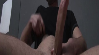 Wolf Hall Jacks his 8-Inch Cock