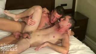 Jason Sparks Helps Elliott Vance in first Hardcore Fuck