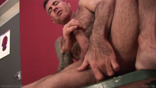 Nick Moretti Stroking at TIM Jack