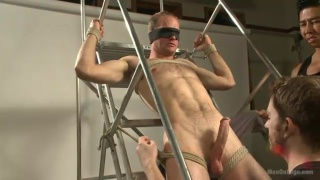 straight boy gets multiple load cock milking