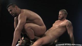 brazilian butt boy riding hairy man's cock