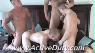 Military dudes pull their rank!