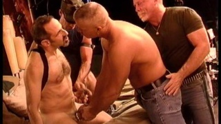 two daddies for horny bottom