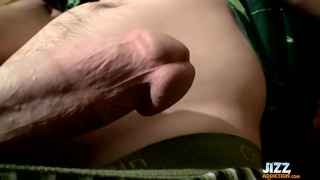nolan stroking his thick and long cock