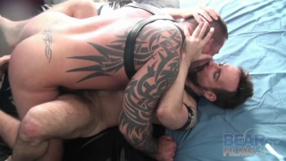 Marc Angelo and Sam Black at Bear Films