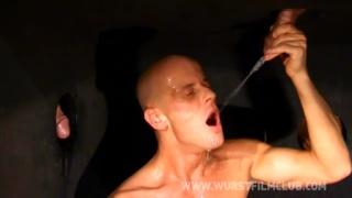 skinhead cocksucker milking gloryhole dick
