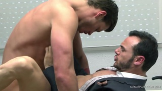toby dutch fucking in the office