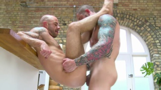 Harley Everett's First Bareback Video