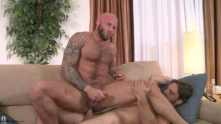 Drake Jaden Sits on Joe Parker's Cock