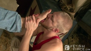 Foot Licker Logan Stevens