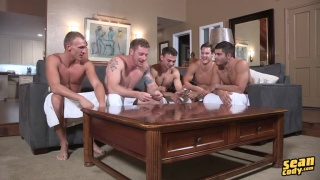 5-guy sean cody barebacking video