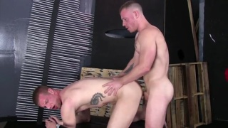 blake daniels takes raw italian cock