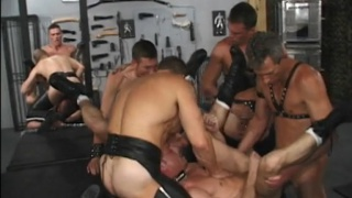 large HDK bareback dungeon party
